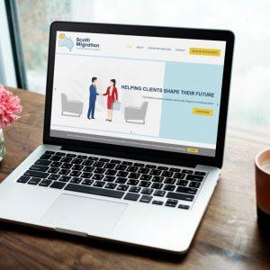 SCOTTI MIGRATION website launch