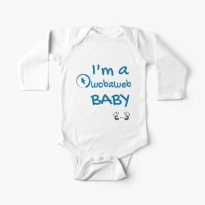 Graphic Design from WOBAWEB - a cute baby outfit!