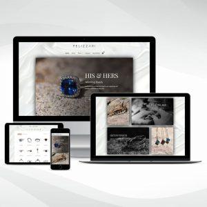 PELIZZARI new website launch