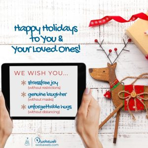 Xmas 2020 wishes from WOBAWEB